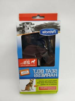 Petmate 11471 Seat Belt Travel Harness for Pets, Small, Blac