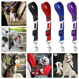 4 Pack Cat Dog Pet Safety Seat belt Clip for Car Vehicle Adj