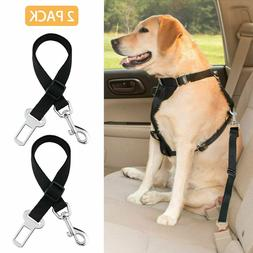 2 Pack Cat Dog Pet Safety Seatbelt for Car Seat Belt Adjusta