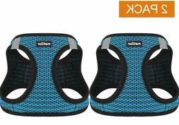 Matilor 2 Pack Dog Harness Step-in Breathable Puppy Cat Dog