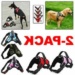 2 pack dog pet vest harness strap