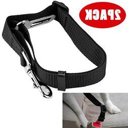 Sagton 2 Packs Pet Dog Cat Car Seat Belt Adjustable Safety L
