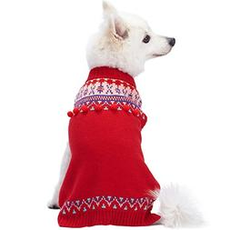 Blueberry Pet 2019 New 4 Patterns Icelandic Lopi Pullover Do