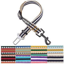 Blueberry Pet 3M Reflective Multi-colored Stripe Adjustable