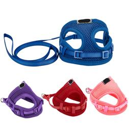 4 Color Harness Lead Set Teacut For Tiny Dog Mini Puppy Chih