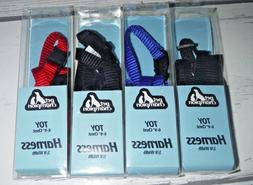 """4 New Pet Champion Toy Harness 6-9"""" Chest 3/8"""" Width Dog Cat"""
