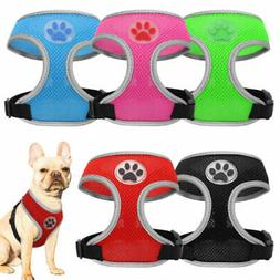 5 Packs Dog Harness Step-in Breathable Soft Cat Puppy Vest f