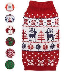 Blueberry Pet 6 Patterns Vintage Ugly Christmas Reindeer Hol