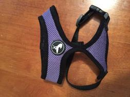 NEW OxGord Small Pet Cat/Dog Harness in Purple, Fits Dogs 5-