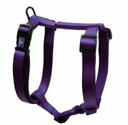 "Hamilton Adjustable Comfort Nylon Dog Harness, Purple, 1"" x"