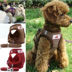 Adjustable Dog Harness Soft Collar Lead Padded Waterproof St