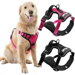 Dog Harness No-Pull Pet Harness Vest Adjustable Outdoor Refl