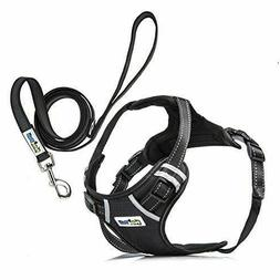 Adjustable No Pull Reflective Dog Pet QUALITY Harness W/ Han