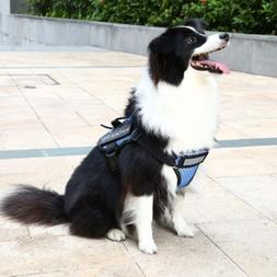 Adjustable Pet Dog Halter Harness Collar Breathable Mesh Pet