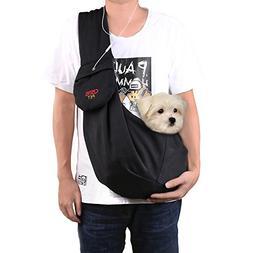 CISNO Adjustable Pet Dog Sling Carrier Bag For Small Dog Cat