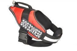 Dogline Alpha Nylon Service Dog Vest Harness with Removable