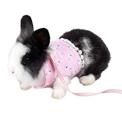 Mummumi Small Animal Harnesses, Breathable Cotton Cloth Flow