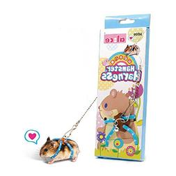 Small Animals Rat Hamster Gerbil Harness and Leash for Walki