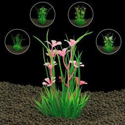 Artificial Plastic aquarium plants Grass for aquarium backgr