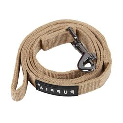 Puppia Authentic Two Tone Lead, Beige, Large