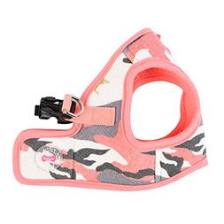 "Puppia ""B Ensign Harness, Large, Pink Camo"