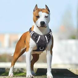 BABYLTRL Big Dog Harness No Pull Adjustable Pet Reflective O