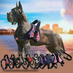 Basic Halter Dog Harnesses Vest Reflective Tape Breathable C