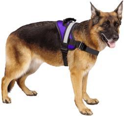 EXPAWLORER Big Dog Harness Soft Reflective No Pull Vest for