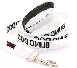 BLIND DOG White Color Coded Alert Warning 2 4 6 Foot Padded