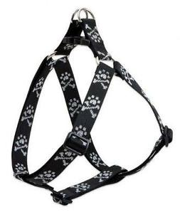 "LupinePet Originals 1"" Bling Bonz 24-38"" Step In Harness for"