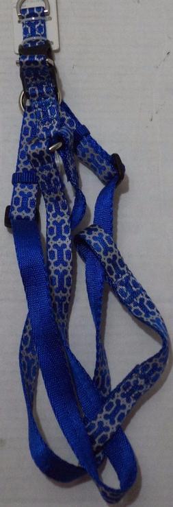 Good2Go Blue Reflective Bone Dog Comfort Harness Size Small,