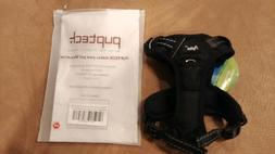 Brand new Pupteck Dog Harness Black with white lettering and