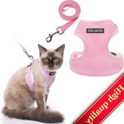 Cat Harness with Leash Lockable Vest, Adjustable, Lightweigh