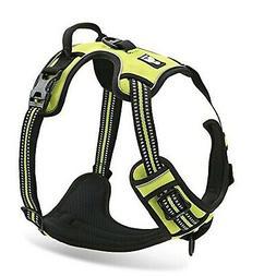 Chai's Choice Best Front Range Dog Harness. 3M Reflective