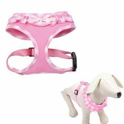 EXPAWLORER Checkered Frills Fashion Puppy Harness for Pets D