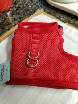 PUPTECK Checkered Frills Soft Mesh Dog Vest Harness Puppy or