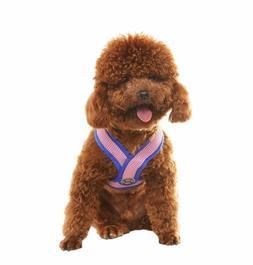 EXPAWLORER Choke Free Small Dog Harness, X Design Adjustable