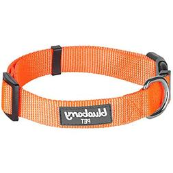 Blueberry Pet 32 Colors Classic Dog Collar, Florence Orange,