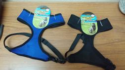 Comfort Control Harness for Dogs, Size XS to XL, Black, Pink