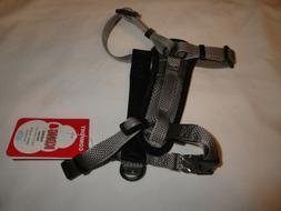 """KONG COMFORT PADDED DOG HARNESS 16""""-22"""" SMALL GRAY NEW STYLE"""