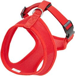 Coastal  Comfort Soft Adjustable Dog Dog Harness - Red Small