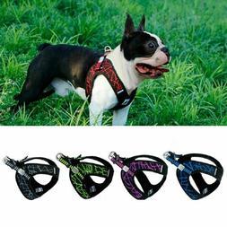 Comfortable Shoulders Straps Pets Dog Harness Printed Halter