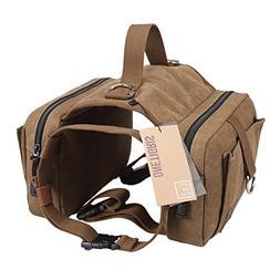 OneTigris Dog Pack Hound Travel Camping Hiking Backpack Sadd