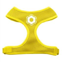 Mirage Pet Products Daisy Design Soft Mesh Dog Harnesses, Sm