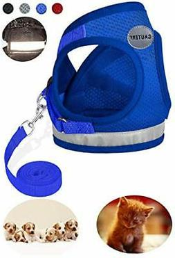GAUTERF Dog and Cat Universal Harness with Leash Set, Escape
