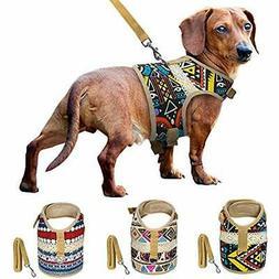 Dog Basic Halter Harnesses Harness &amp Leash Set For Small