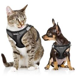 Dog Cat Adjustable Vest Harness Escape Proof Freedom No Pull