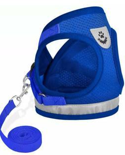 GAUTERF Dog Cat Universal Harness with Leash Set, Escape Pro