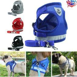 Dog Cat Walk Leash Harness Pet Puppy Rope Chest Strap Vest f