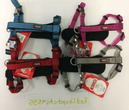 Kong Dog Comfort Padded Harness Puppy Red Grey Blue Pink Sma